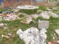 Escombros, elemento paisajístico del sector Terreros