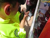 Policía captura a 20 personas  e incauta  más de 500 celulares robados