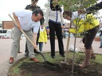 En Soacha también se sembró el árbol de la libertad