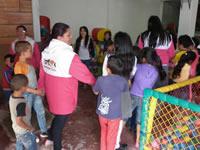 Desarrollo Social trabaja por los derechos de los niños en sectores marginados del municipio
