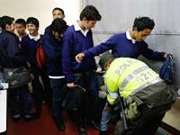 Autoridades se toman las IE General Santander e Integrado de Soacha
