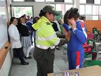 Autoridades decomisaron cuchillos, navajas y drogas ilícitas a estudiantes de Soacha