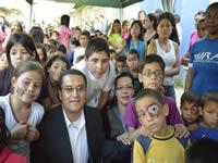 Partido MIRA también celebró el día de los niños
