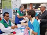 Primera feria de atención al usuario en hospital San Rafael