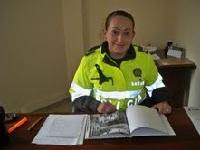La Candelaria recibe a  la única mujer comandante de estación de Policía en Bogotá