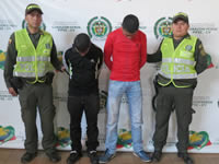 Policía captura  apartamenteros en Soacha