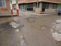 A partir de julio comienzan obras de reparcheo y recuperación de vías en Soacha