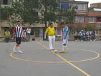 Barrio La Amistad reactiva su torneo de microfútbol