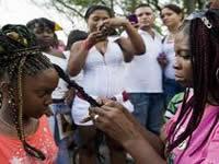 Encuentro de peinados afro