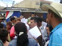 Manifestantes exigen debate sobre vivienda en Soacha