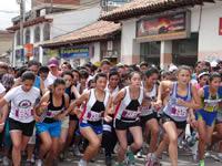 Más de 2.800 mujeres participaron en la  'Carrera de la Mujer Soacha 2013'