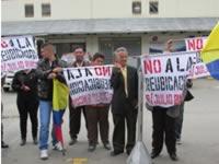 Continúa polémica por proceso de reubicación de habitantes de  Julio Rincón