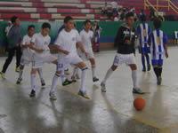 Avanza en el municipio torneo fútsal  2013