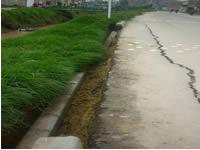 Comunidad sigue esperando  que sea arreglada la bancada del Río Soacha