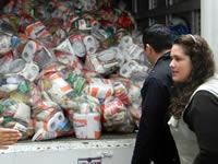 Se reactivó entrega de mercados del Banco de Alimentos