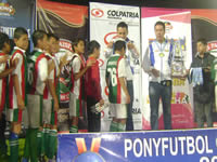 Sibaté se coronó campeón del  Pony Fútbol