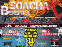 Segundo día de «Soacha Benéfica Metal Fest»