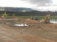 En Soacha avanzan lentamente las obras sobre el río Bogotá