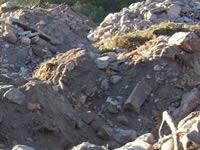 Continúan operativos para judicializar a quienes arrojan escombros en zonas prohibidas