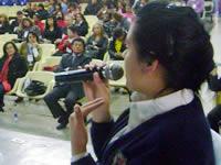 Socialización de experiencias educativas en el teatro Sua