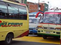 Caos vehicular en la autopista sur por paro de empresas transportadoras de Sibaté