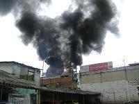 Incendio en Bosa deja siete heridos graves