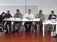 Problemas educativos y sociales, temas de discusión en la IE Las Villas