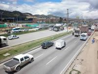 Cierre de la Autopista por construcción del puente vehicular Terreros
