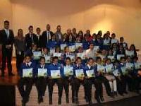 Jóvenes de Madrid certificaron su trabajo en Cine Ambiental