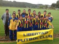 Destacada participación de  selección prejuvenil Libertad F.C.