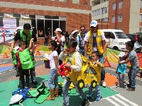 Parques infantiles para educar en seguridad vial