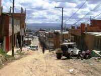 Barrio Minuto de Dios, legalizado pero sin agua