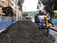 Llantas  han sido reutilizadas para elaborar asfalto