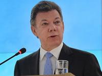 Presidente Santos inaugura colector de aguas lluvias en Soacha