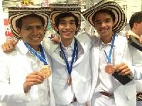 Aprendiz de Girardot logra medalla de oro en competencia mundial