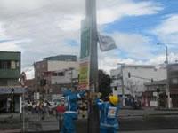 Se desmontaron  164 pendones, pasacalles y avisos ilegales en la calle 80