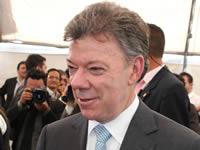 Presidente Santos puso primera piedra  para el nuevo centro de formación del Sena en Soacha