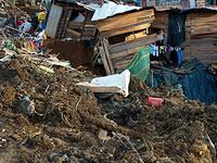 Alud de tierra afecta tres viviendas del barrio Los Robles de Soacha