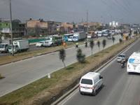 Avanzan obras en la autopista sur