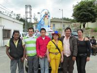 La comunidad de El Charquito rindió homenaje a la Virgen del Carmen