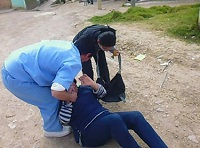 E.S.E realizó simulacro de riesgo público en Ciudadela Sucre