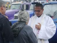 Se realizó misa por víctimas del 'cruce de la muerte'
