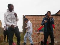 Revolución con cultura en el barrio Divino Niño