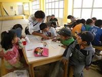 Salones comunales  con función educativa