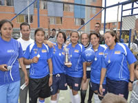 MIRA apoya el deporte femenino en Soacha