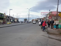 Paro total de Transporte en Soacha y Sibaté