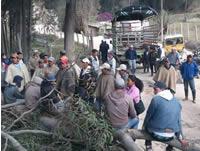 Campesinos de Soacha se unen al Paro Nacional Agrario