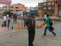 Disturbios se extienden a San Mateo y centro de Soacha