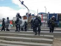 Arriban refuerzos a Soacha para controlar situación de orden público