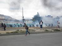En medio de enfrentamientos comenzó Toque de Queda en Soacha